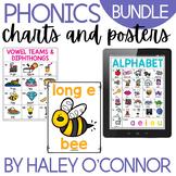 Phonics Chart BUNDLE {Chart, Full Page and Digital Versions}