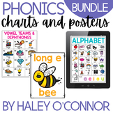 Phonics Chart BUNDLE {Chart, Full Page and Digital Versions}