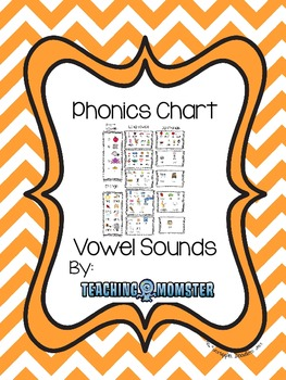 Phonics Chart Vowel Sounds