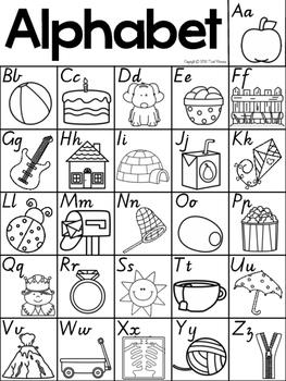 Phonics Charts FREEBIE in Victorian Modern Cursive Font