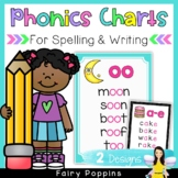 Phonics Charts - Spelling Support (First & Second Grade)
