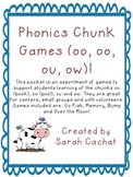 Phonics Chunk Game Pack (oo, oo, ou, ow)