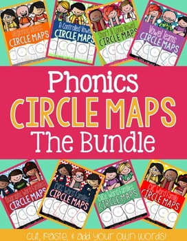 Phonics Circle Maps Bundle