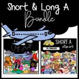 Phonics Clip Art Bundle Short & Long A: Moveable Images fo