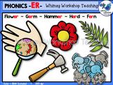 Phonics Clip Art: ER Words - Whimsy Workshop Teaching