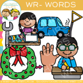 Phonics Clip Art - Wr- Words