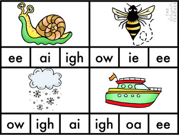 Centers by Design: Phonics Clip Cards BUNDLE