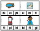 Phonics Clip Cards Beginning L Blends Low Prep