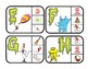 Phonics Clip Cards - Dr. Seuss Theme Oobleck Letters