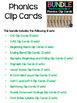Phonics Clip Cards - Bundle