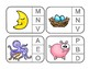 Matching Sounds to Letters - Phonics Clip Cards for Independent Practice