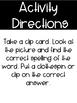 Phonics Clip Cards: Vowel Team ea