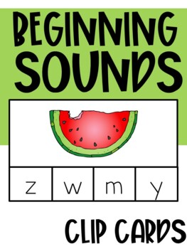 Phonics: Clip & Record Cards (Literacy Center)