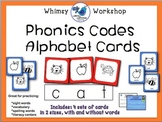 Phonics Codes Alphabet Cards - Whimsy Workshop Teaching