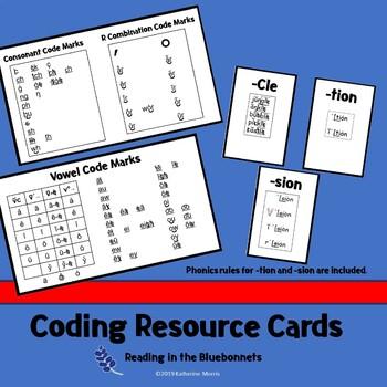 Phonics Coding Resource Cards