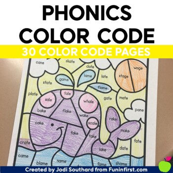 Phonics Color by Code