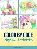 Phonics Color by Code Activities, Countries and Cultures