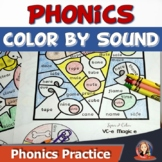 Phonics Games and Activities to Color by Sound