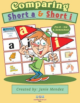 Phonics: Comparing Short A words and Short Vowel I Words