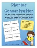 Phonics Concentration - Deck 3