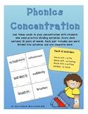 Phonics Concentration - Deck 4