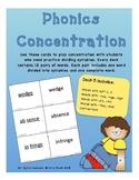 Phonics Concentration - Deck 5