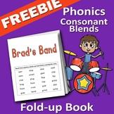 Phonics - Consonant Blend Book