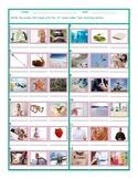 Phonics Consonant Blend SL Photo Worksheet