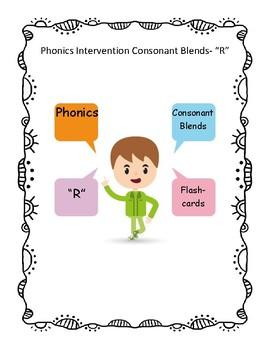 """Phonics- Consonant Blends """"R"""""""