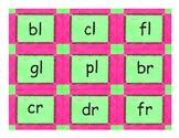 Phonics Consonant Blends Text Card Game