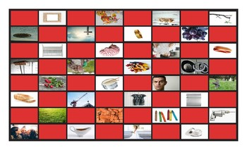 Phonics Consonant Blends br-cr-dr-fr-gr Photo Checkerboard Game