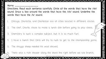 Phonics - Consonant Digraphs - Grades 3-6