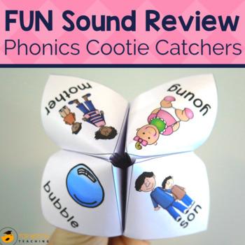 Phonics Cootie Catchers Set B
