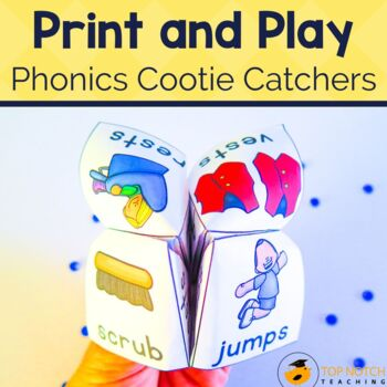 Phonics Cootie Catchers Bundle