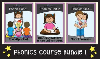 Phonics Course Bundle - Part 1