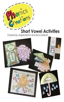Phonics Creations Short Vowel Bundle