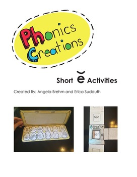 Phonics Creations short e