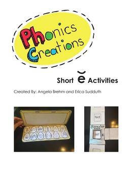 Phonics Creations short e