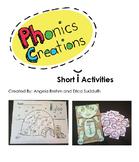 Phonics Creations short i
