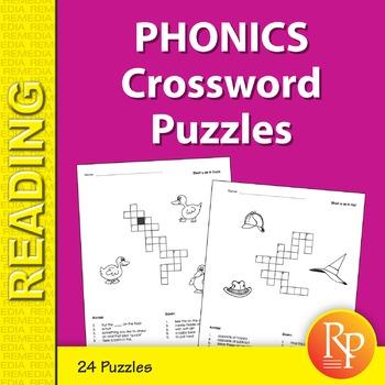Phonics Crossword Puzzles