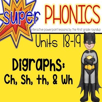 Phonics Digital Curriculum, First Grade: Units 18-19 (th/wh, sh/ch)