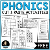 Phonics Cut and Paste Activities FREE