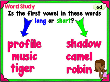 Phonics Daily PowerPoint for Third Grade, Bundle Units 1-6