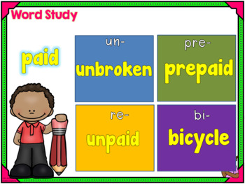 Phonics Daily PowerPoint for Third Grade,  Unit 5