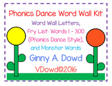 The Phonics Dance™ Word Wall Kit©