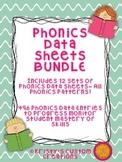 Phonics Data/ Progress Monitoring Sheets BUNDLE: All Phonics Patterns!