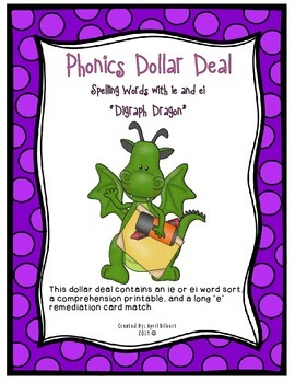Phonics Deal #30: Digraph Dragons