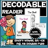 PHONICS DECODABLE READER  (CVC, NG, NK, CK digraphs WH, CH, SIGHT WORDS)