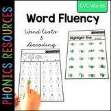 Phonics Fluency: Decoding CVC Words | Distance Learning