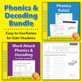 Phonics & Decoding for Older Students {Bundle}